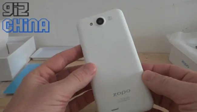 zopo c3 unboxing video