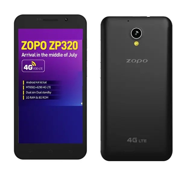 Zopo ZP320   недорогой смартфон с LTE