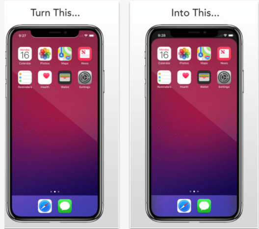 Notchless Wallpaper Iphone X Iphone X Notch Here S A Simple Workaround To Hide It