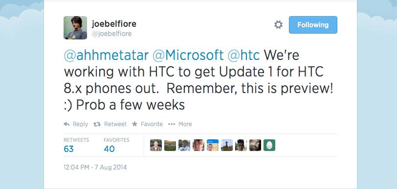 htc windows 8.1 gdr1 update