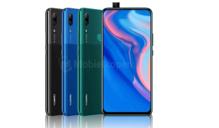 Leak Huawei P Smart Z is Huawei\u0027s first pop-up selfie camera phone