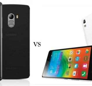 Lenovo K4 Note vs K3 Note comaprison
