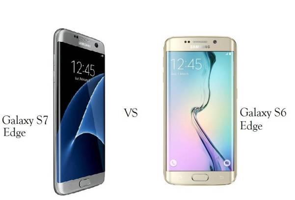 Galaxy S7 Edge vs S6 Edge comparison