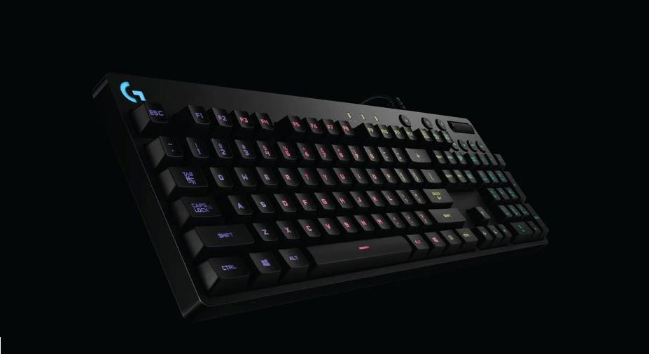 Logitech G810 mechanical keyboard