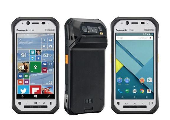 Panasonic Toughpad FZ-F1 and FZ-N1 rugged smartphones