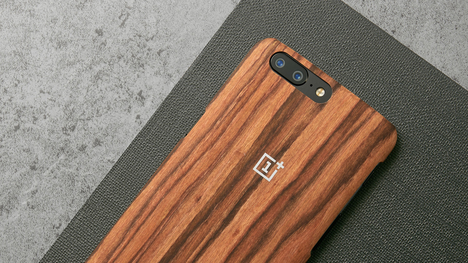 Official Protective Case For OnePlus 5 - rosewood case