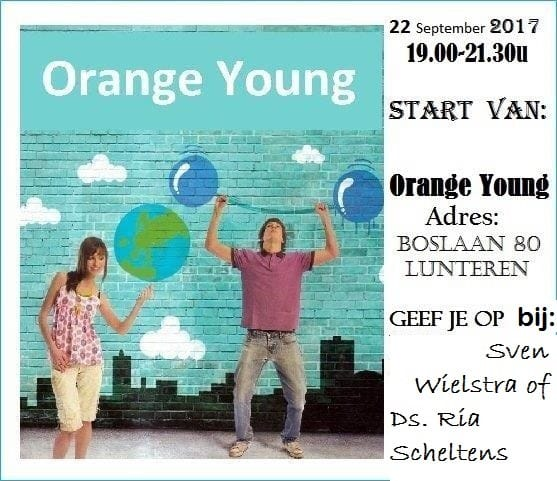 "Start Soos: ""Orange Young"""