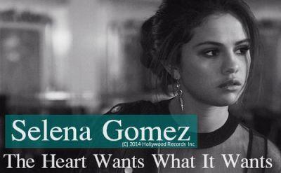 Селена Гомес (Selena Gomez) - The Heart Wants What It Wants текст песни(слова) перевод видеоклип ...