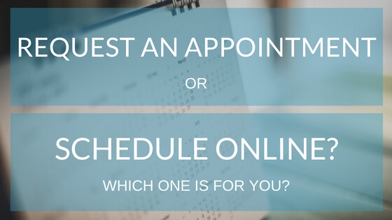 Online Scheduler vs Request An Appointment Form Which One Works