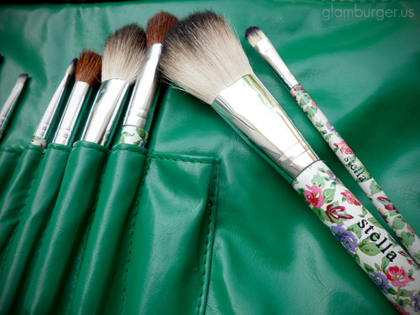 Stella Floral Makeup Brush Set