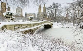 Neve no Central Park