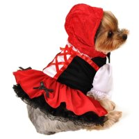 Little Red Riding Hood Dog Costume | Halloween Costumes at ...