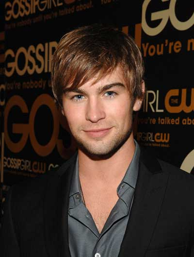 Chace Crawford takes part in Teens For Jeans charity campaign
