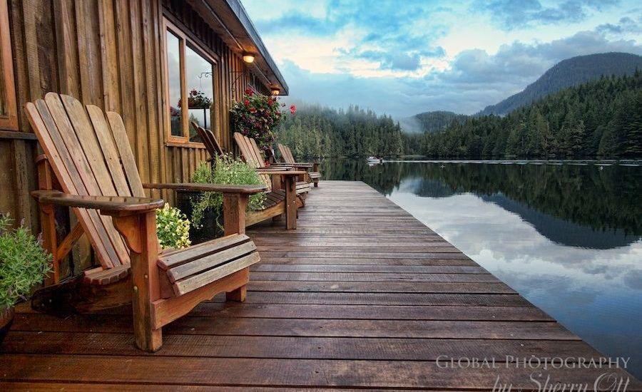 cabin on deck