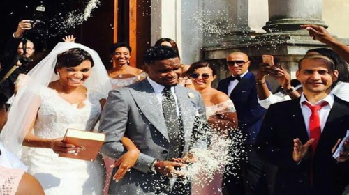 Samuel Eto'o Marries Long-Term Girlfriend, Georgette Tra Lou In Italy