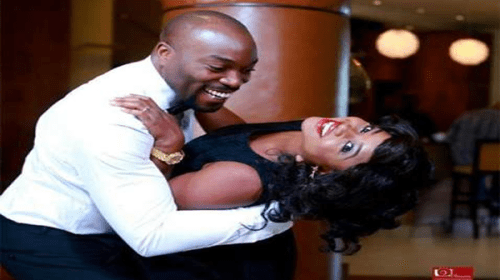 Actor Seun Akindele Releases Adorable Pre-wedding Photos