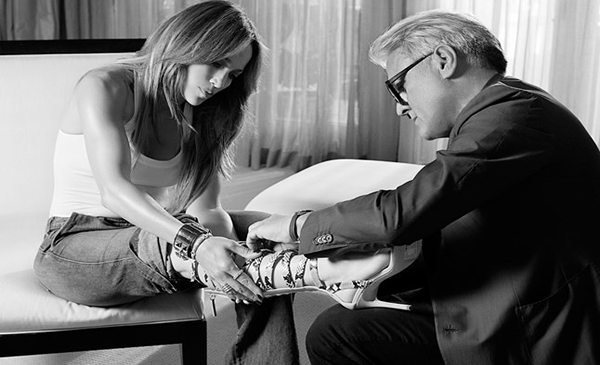 Giuseppe Zanotti and Jennifer Lopez Team Up To Create Capsule Collection
