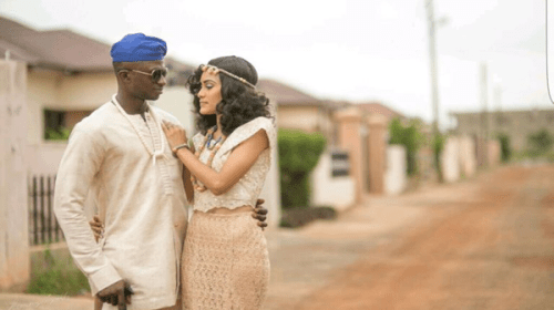 Official Photos: Actress Sonia Ibrahim And Collins Taabazuing's Traditional Wedding