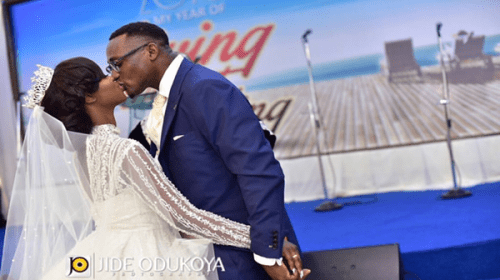 Designer Kunbi Oyelese Of April by Kunbi Ties The Knot With Lanre Tomori