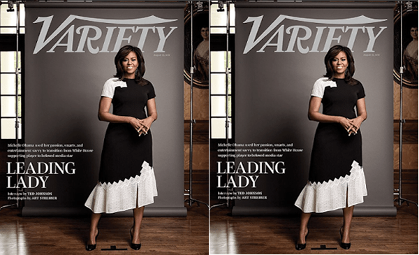 Michelle Obama Graces The Cover Of Variety Magazine