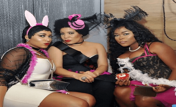 Nollywood Stars Bimbo Akintola, Faithia Balogun, Rukky Sanda, Daniella Okeke, Ufuoma McDermott & More Attend Monalisa Chinda's Burlesque Bridal Shower