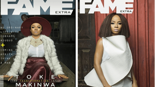 My First Date After My Separation, I Cried on My Way Home Reaveals Toke Makinwa As She Covers Fame Extra Magazine