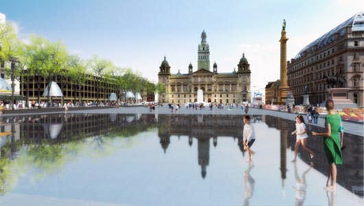 George Square design Glasgow
