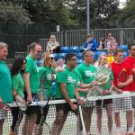 western health and racquets rally for bally event