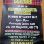 ceilidh maryhill foodbank