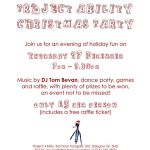 project ability christmas party