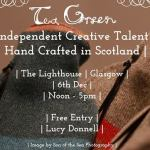 tea gree festive aret, design and contemporary craft market