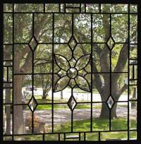 BRYANTP Leaded Beveled Glass Window Custom Glass Design