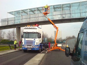 Glazing survey glass bridges