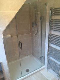 shower sloped ceiling | Boatylicious.org