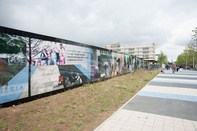 Hoarding Artwork