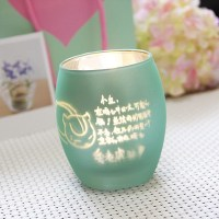 Custom lettering colorful candle holders factory multiple ...