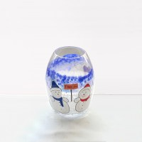 wholesale glass candlesticks cheap hand painted candle ...