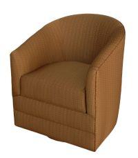 GL-27BL Swivel Barrel Chair with Storage, Glastop Inc.