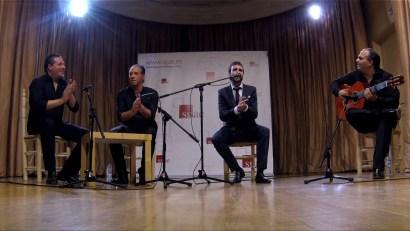 Concierto Flamenco, Maizenita, 29-1-2015 sala Manuel de Falla SGAE Madrid