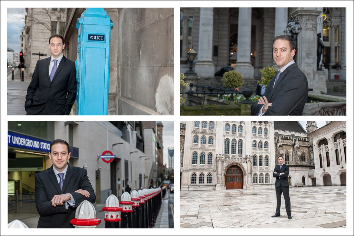 corporate headshots london