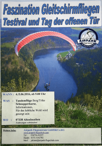 Airpark Testival Flyer