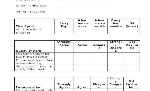 360 degree feedback examples Archives - Glendale Community Document