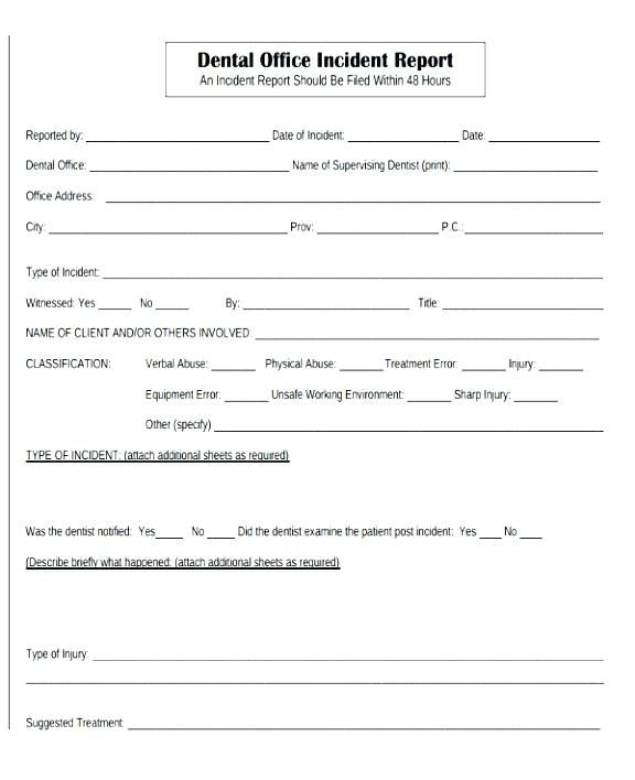 Accident Investigation form Template Word - Glendale Community