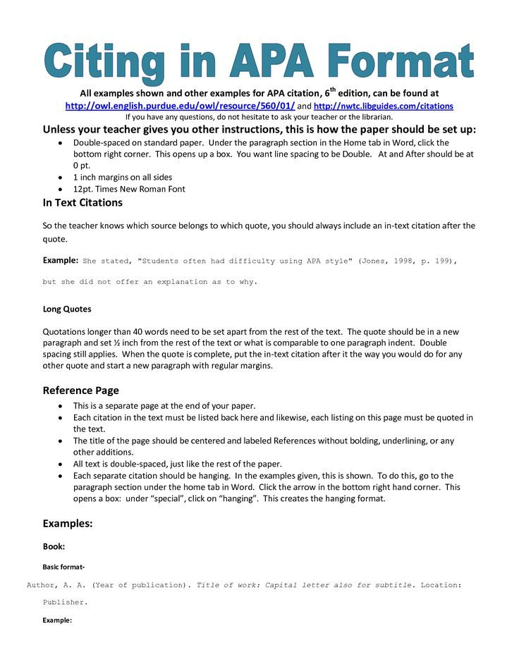 Business Report Apa format - Glendale Community Document Template