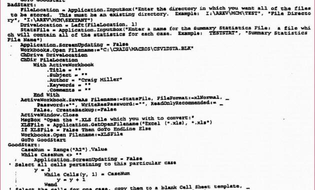Cash Flow Template Excel - Glendale Community Document Template