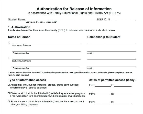 Privacy Consent form Template - Glendale Community Document Template