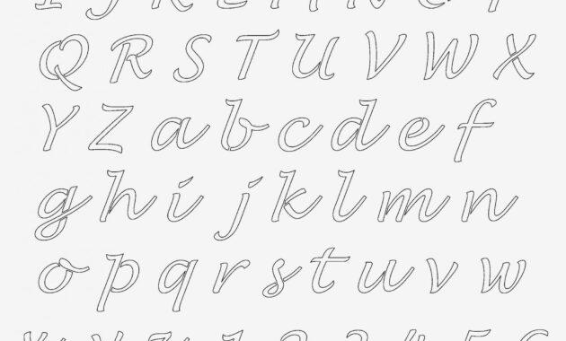 printable cursive letter chart Archives - Glendale Community