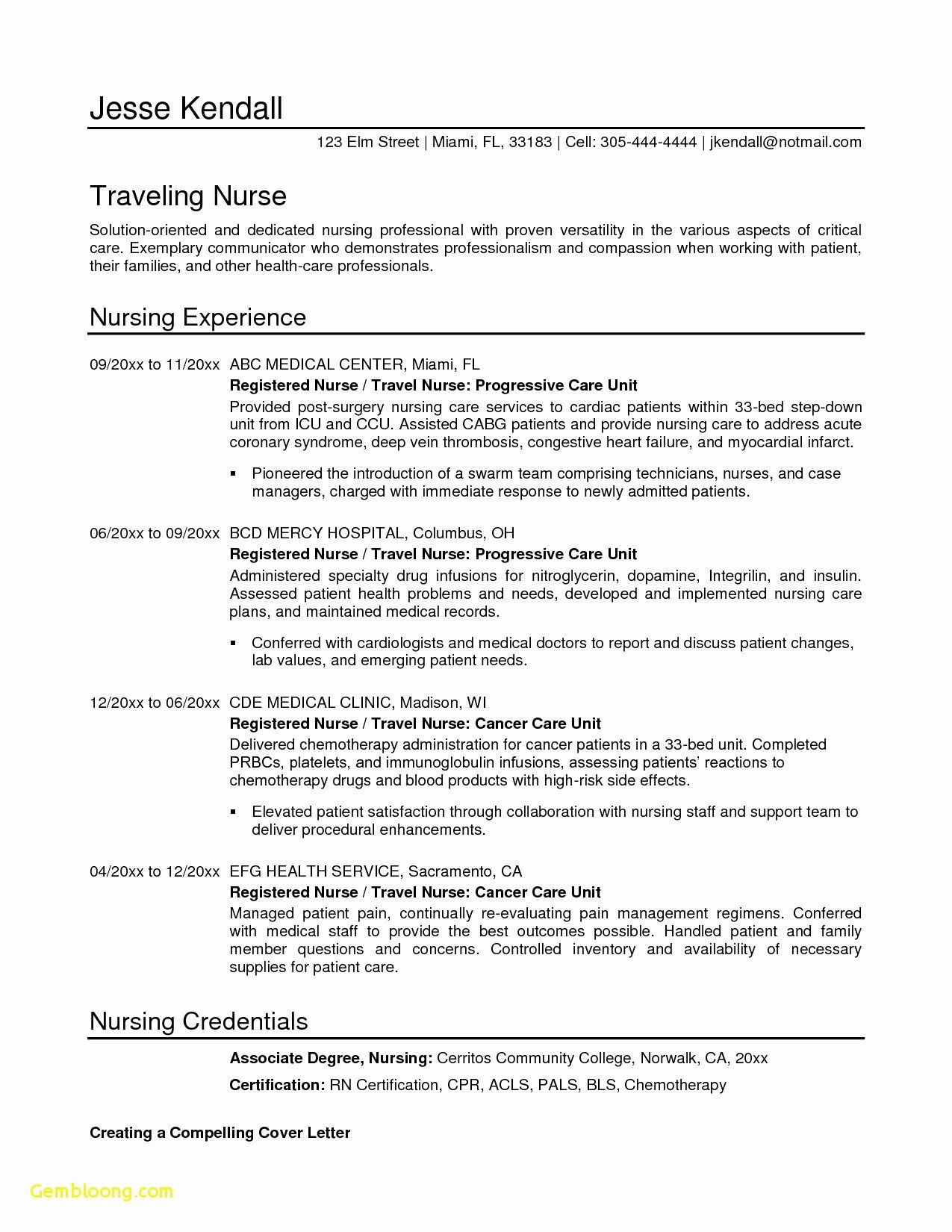 resume statement of purpose examples