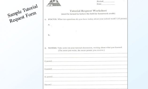 tutorial request form for avid Archives - Glendale Community
