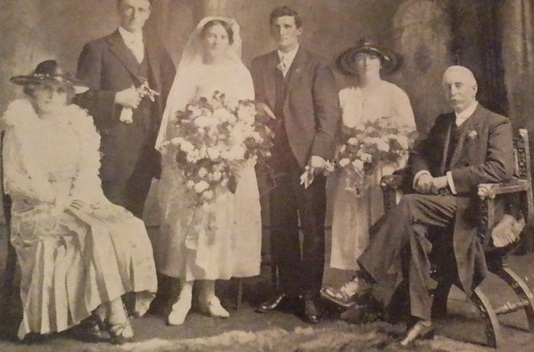 hilda and jack wedding pic